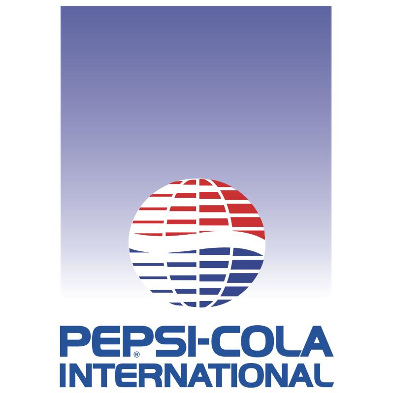 Pepsi Cola International vector