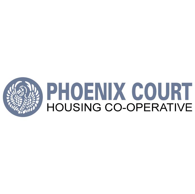 Phoenix Court vector