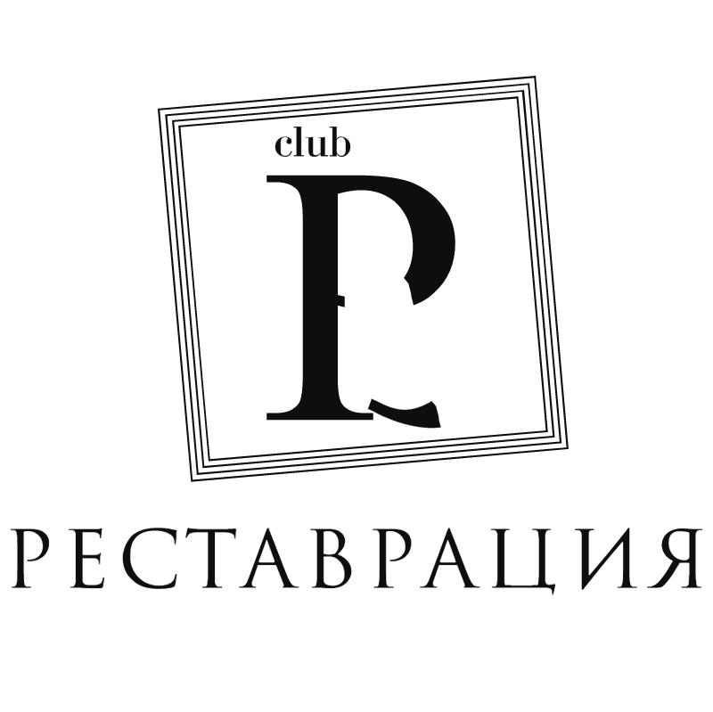 Restavratciya Club vector