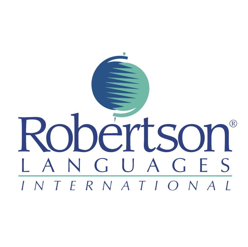Robertson Languages vector