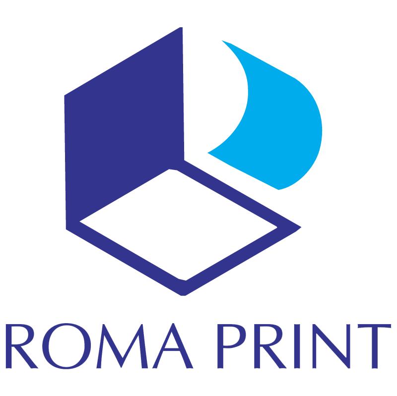 Roma Print vector