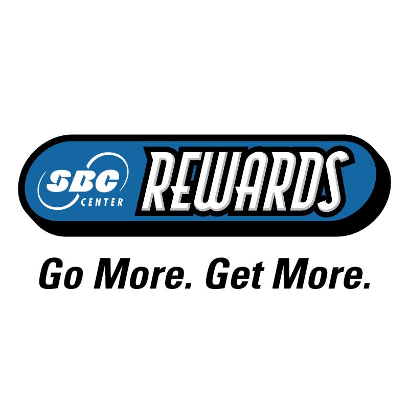 SBC Center Rewards vector logo