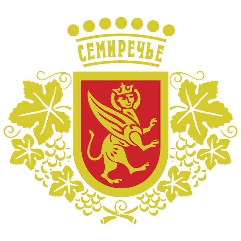 Semirechye Kazahstan vector
