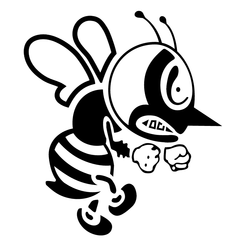 St Ambrose Fighting Bee vector logo