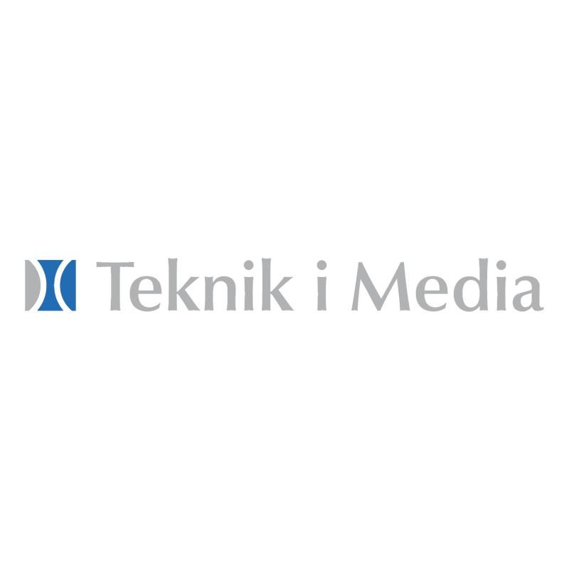 Teknik i Media vector