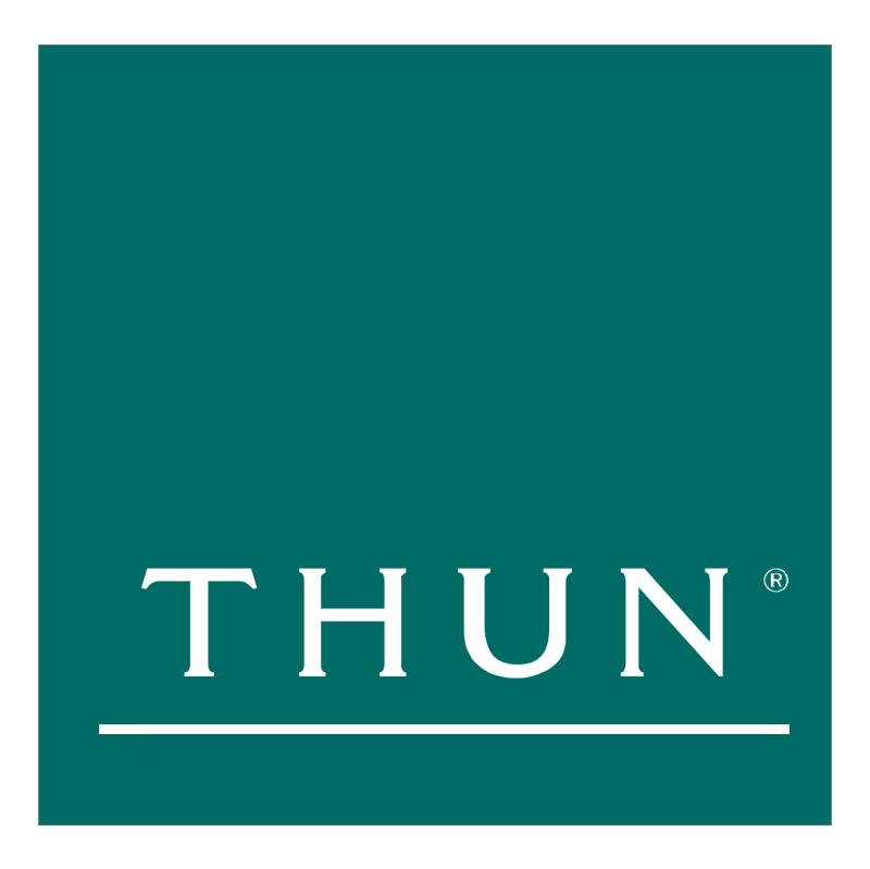 Thun vector logo