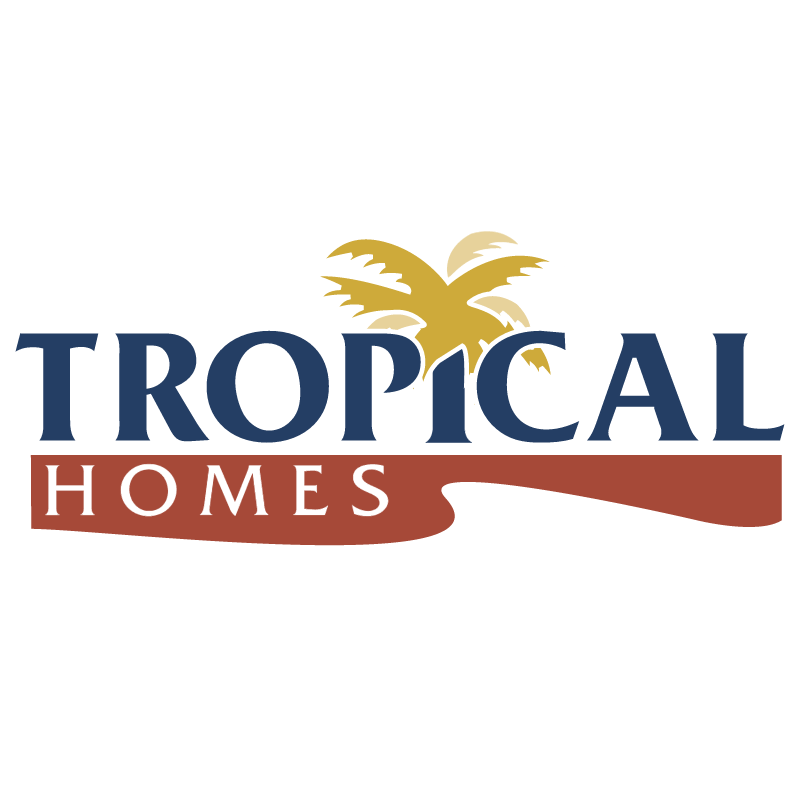 Tropical Homes vector
