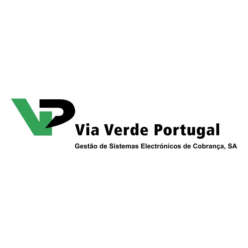 Via Verde Portugal vector