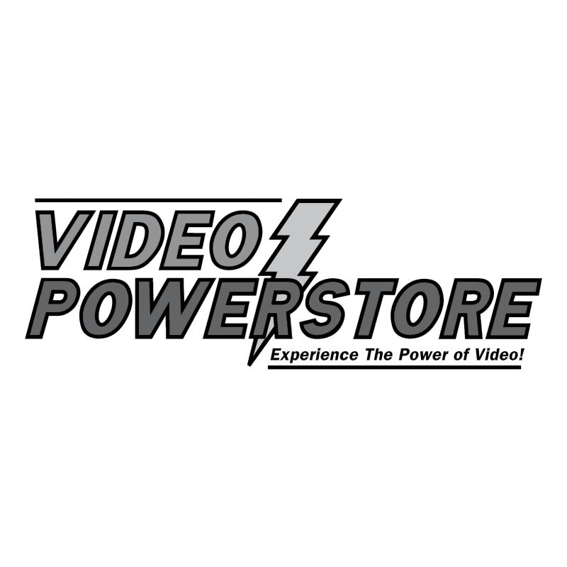 Video Powerstore vector logo