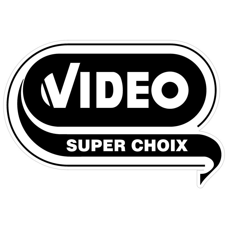 Video Super Choix vector