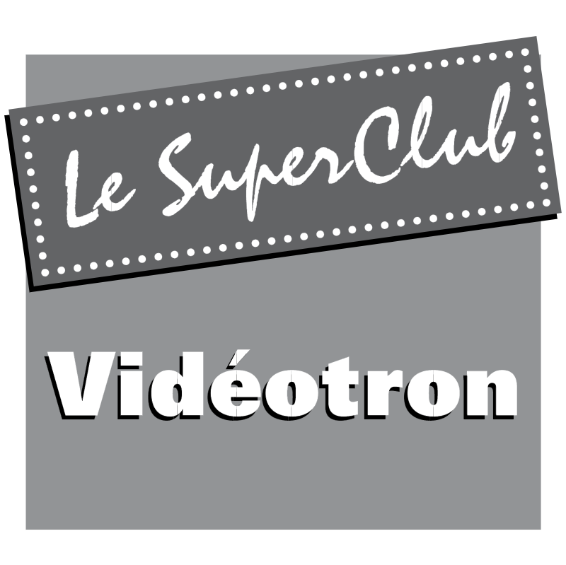Videotron Le Super Club vector