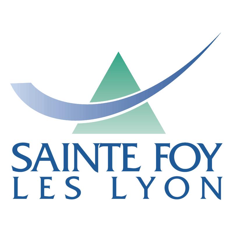 Ville de Sainte Foy les Lyon vector
