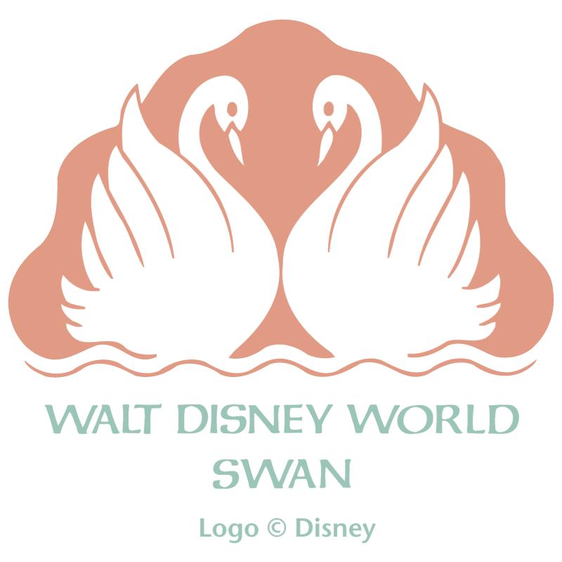 Walt Disney World Swan vector