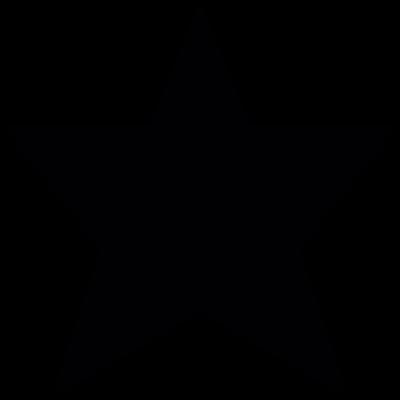 Dark star vector logo
