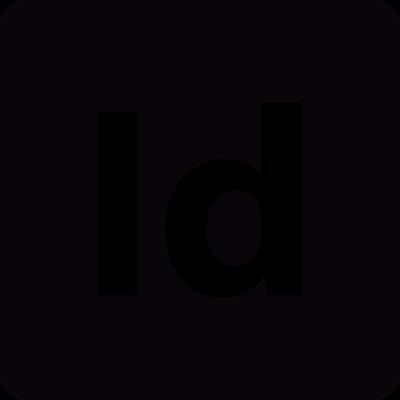 Adobe InDesign logo vector logo