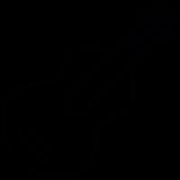 Violin, IOS 7 interface symbol vector