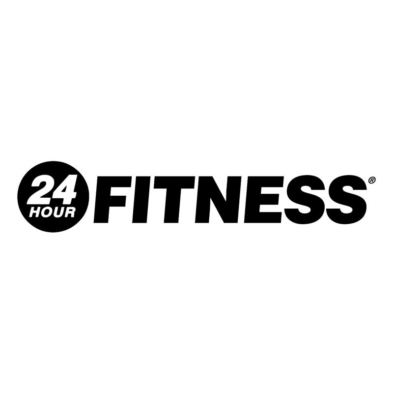 24 Hour Fitness vector logo
