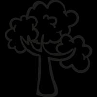 Woods Tree vector