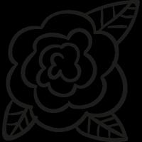 Garden Rose vector