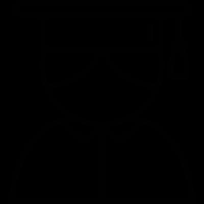 Graduated student avatar vector logo