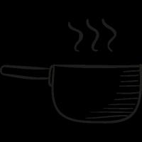 Casserole Pot vector