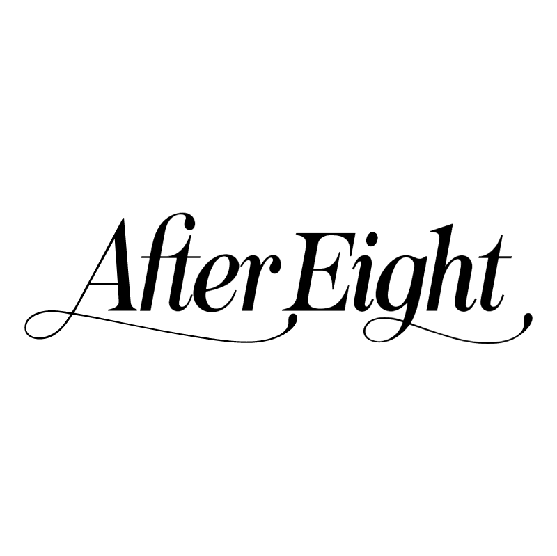 After Eight 63337 vector