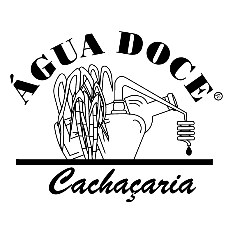 Agua Doce Cachacaria vector
