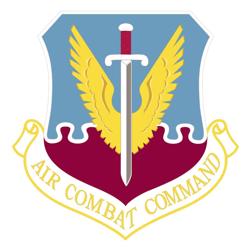 Air Combat Command 57693 vector logo