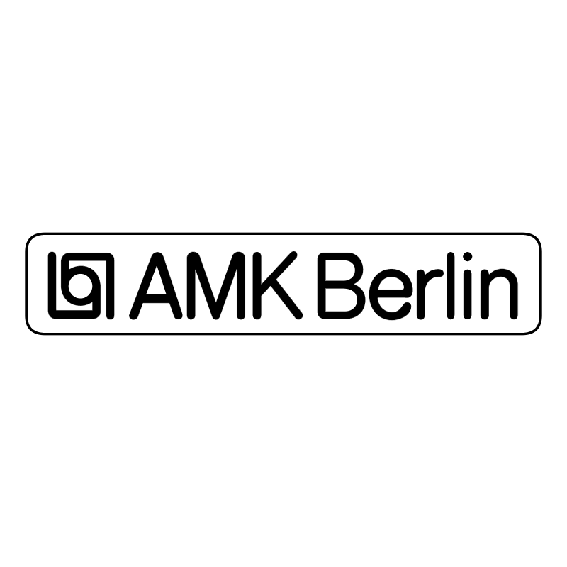 AMK Berlin vector logo