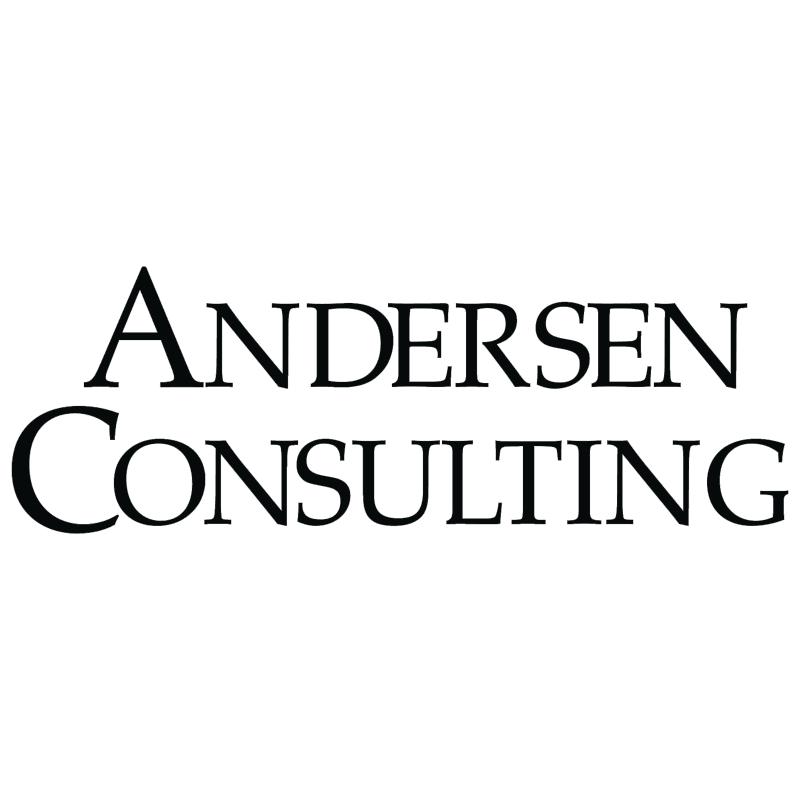 Andersen Consulting 7206 vector