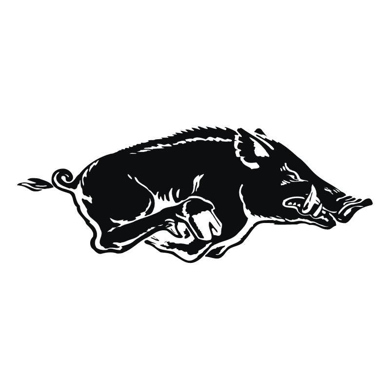 Arkansas Razorback vector
