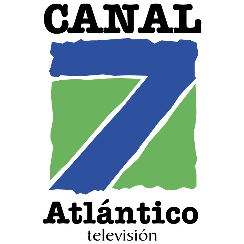 AtlanticoTV Canal 7 vector