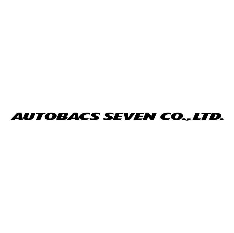 Autobacs Seven vector