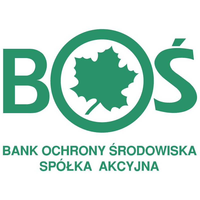 Bank Ochrony Srodowiska vector