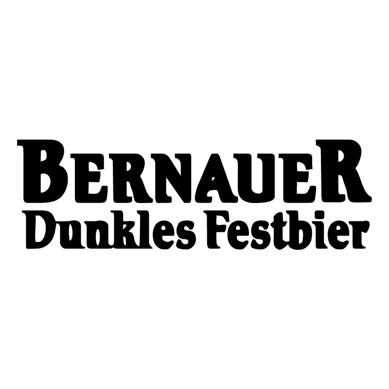 Bernauer Dunkles Festbier vector