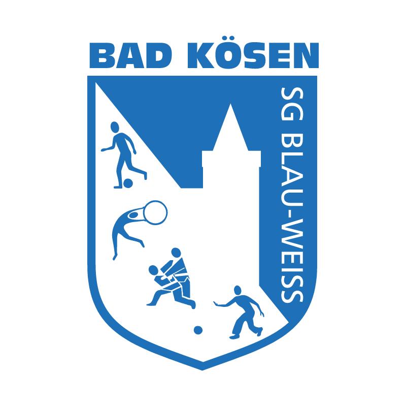 Blau Weiss Bad Koesen vector