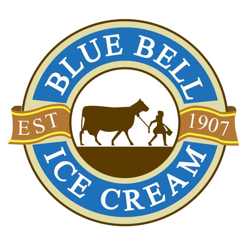 Blue Bell Ice Cream vector