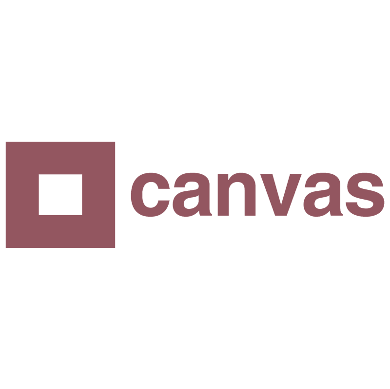 Canvas Belgium TV vector logo