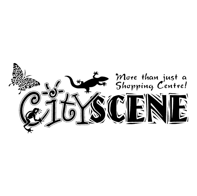 Cityscene vector