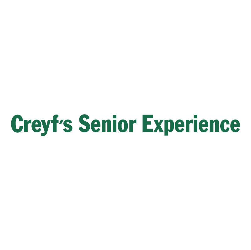 Creyf's Senior Experience vector