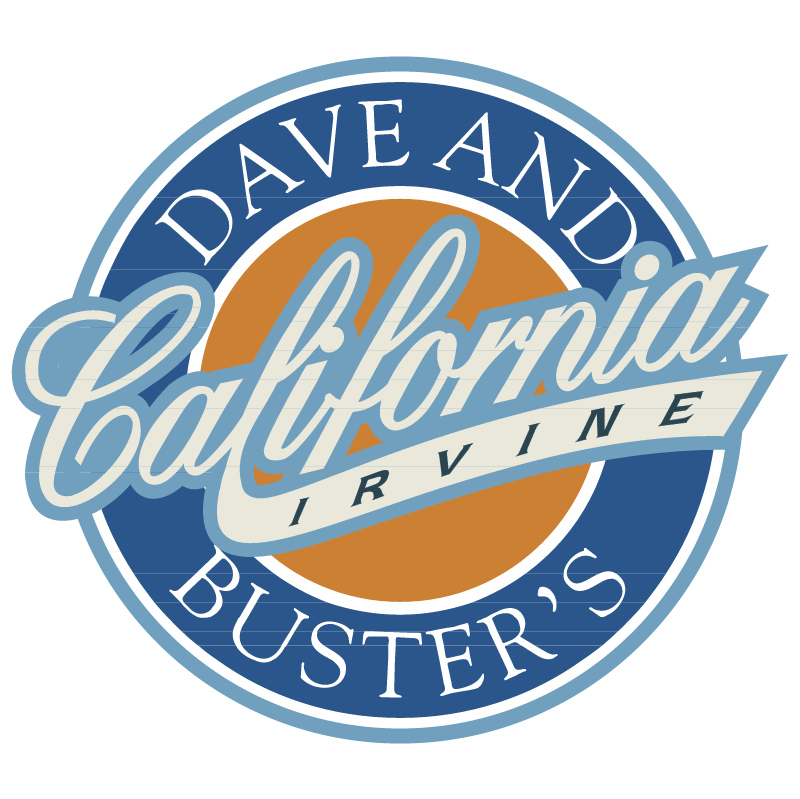 Dave And Buster's California Irvine vector logo