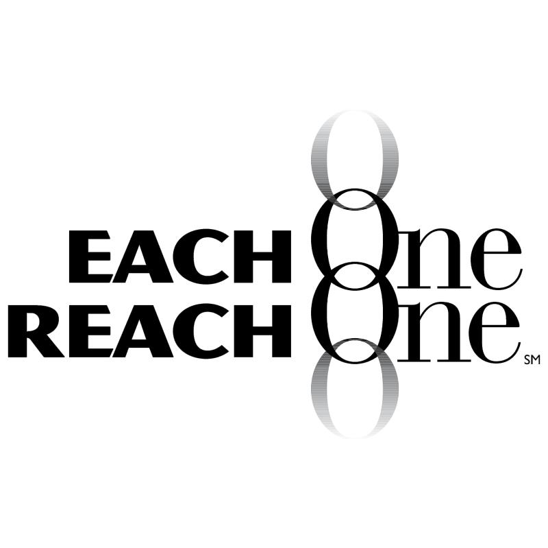 Each One Reach One vector