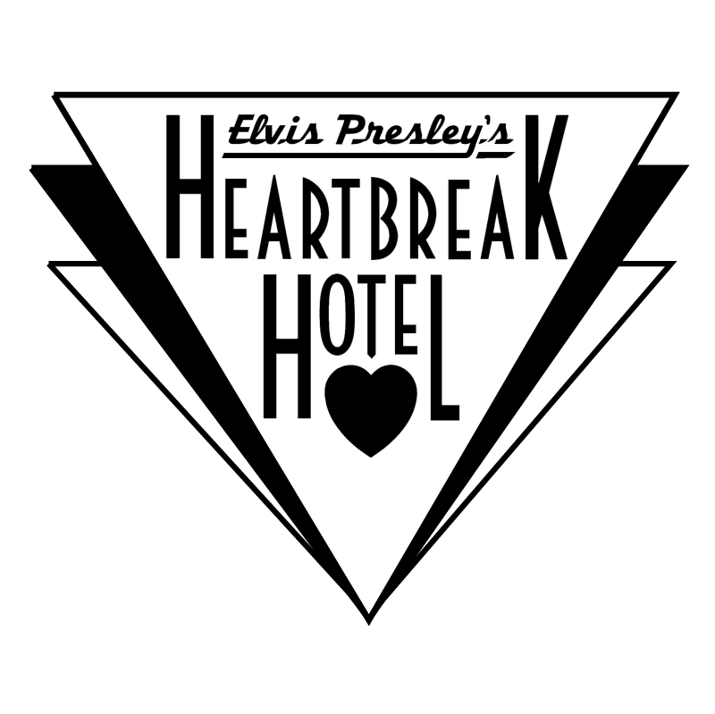Elvis Presley's Heartbreak Hotel vector