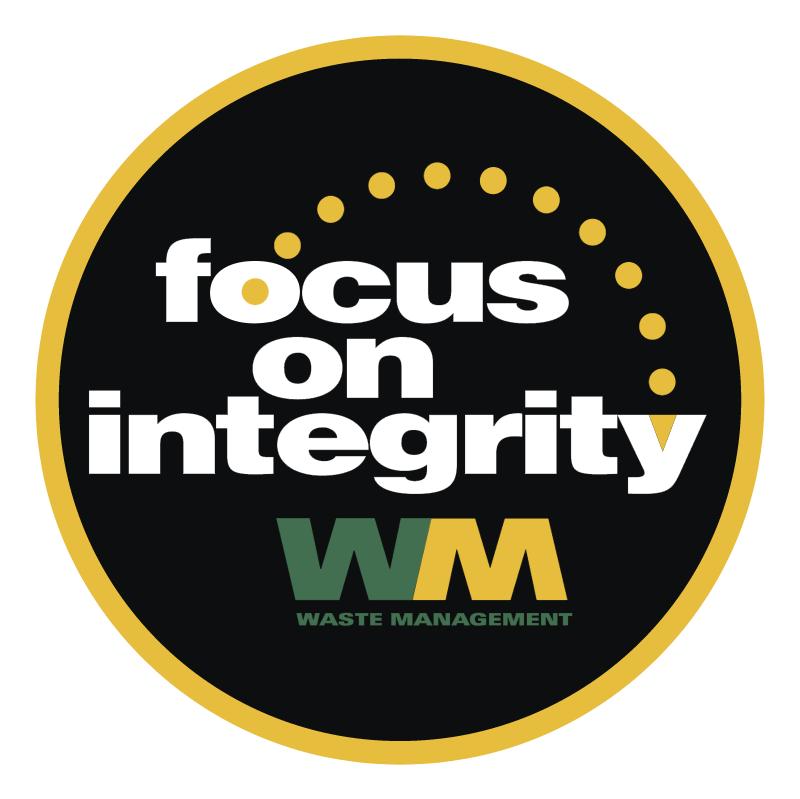 Focus on Integrity vector