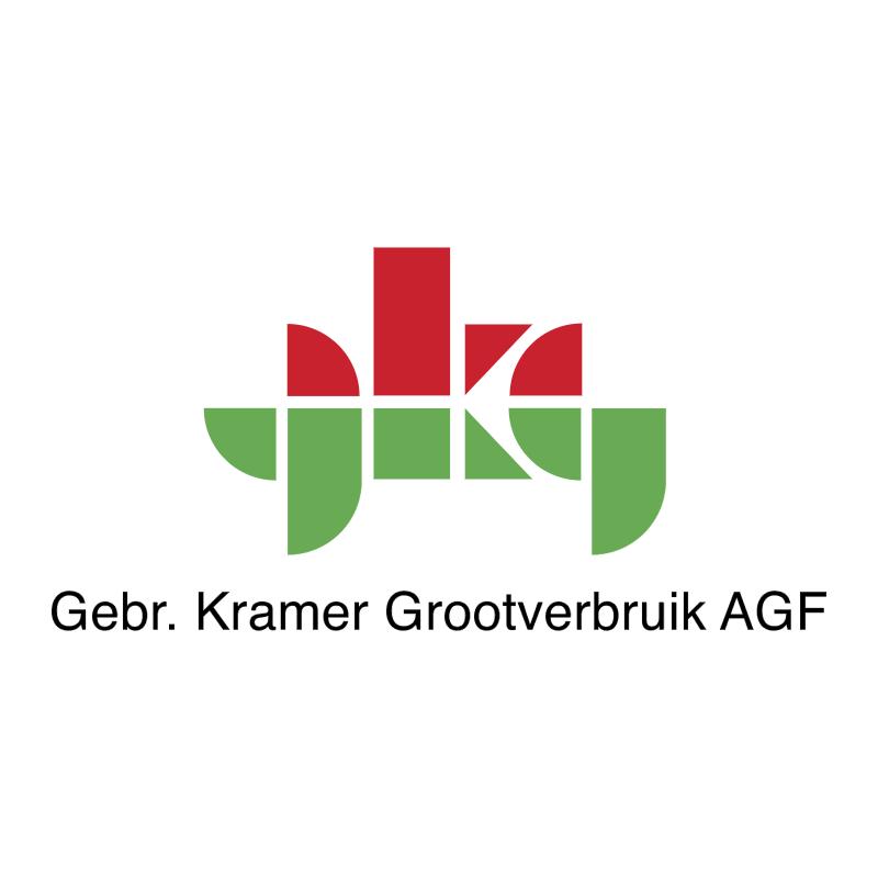 Gebr Kramer Grootverbruik AGF vector