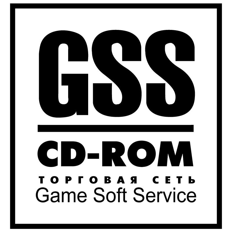 GSS CD ROM vector logo