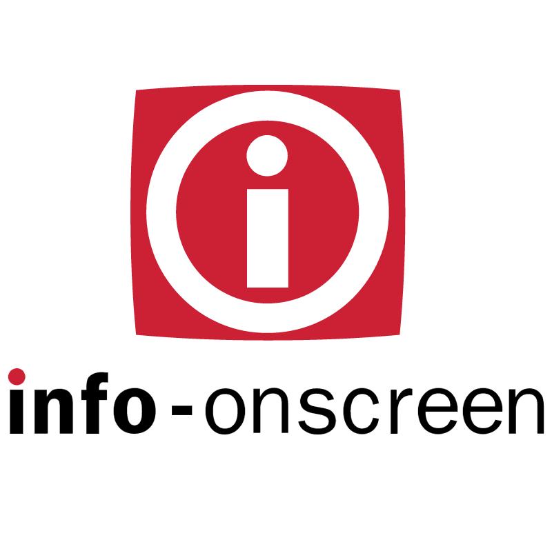 Info Onscreen vector