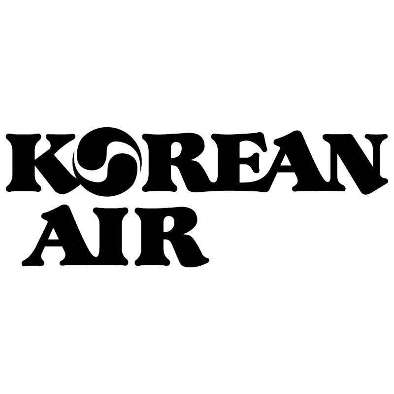 Korean Air vector