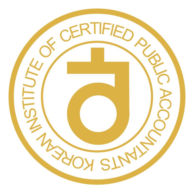 Korean Institute of Certified Public Accountants vector