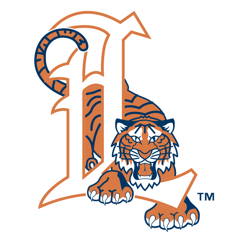 Lakeland Tigers vector